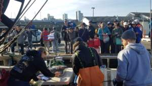 Pioneer Seafoods fish for sale at Pier 47