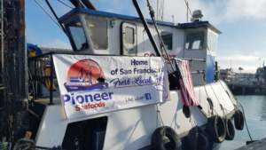 Pioneer Seafoods at Pier 47